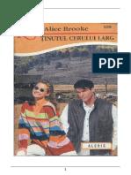 Alice Brooke Ţinutul Cerului Larg