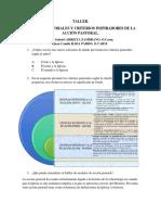 Taller 14sep Modelos Pastorales y Criterios Inspiradores de La Acción Pastoral.