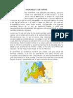 Hidrografía de Europa