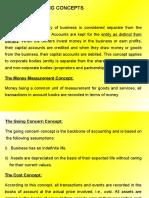Basic Accounting Concepts