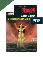 Surray Adam - Seleccion Terror 388 - La Reencarnacion de Caroll