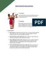 Dance Positions (BALLROOM)