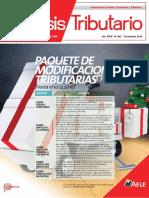REVISTA ANÁLISIS TRIBUTARIO  DIC 2016