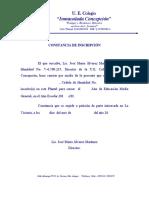 Constancia Inscripción Media General