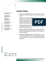 Equity Daily- 083110
