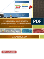 Pembuatan E-Billing System