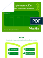 Guía de Implementación - Creación de Drivers Modbus Mediante MDI