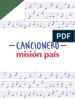 Cancionero Mision Pais