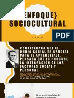 Enfoque} Sociocultural