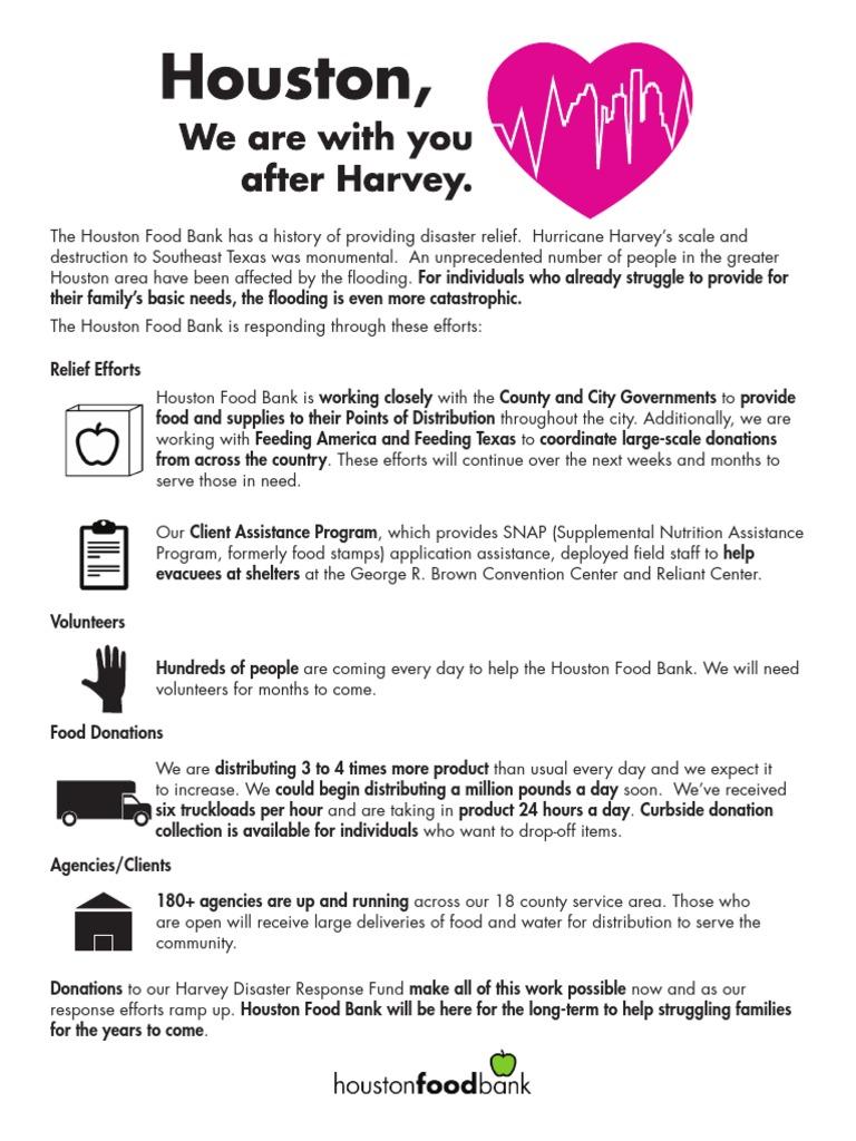 Houston Food Bank Harvey