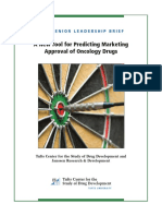 A New Tool for Predicting Marketing Marketing Approval of Oncology Drugs