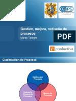Modulo I - Sesión 02.Gestión, Mejora y Rediseño de Procesos