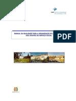 Manual Da Qualidade Para a Organização Do Atendimento Dos Utentes Do Serviço Social
