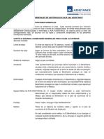 Condiciones Generales Asistencia en Viaje Axa Assistance ComparaOnline