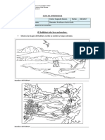 Guia de Ciencias Naturales, Habitats de Los Animales.