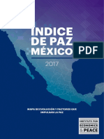 Mexico Peace Index 2017 Spanish