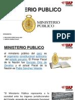 Ministerio Publico.