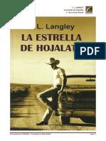 J. L. Langley - Serie Ranch 01 - La Estrella de Hojalata
