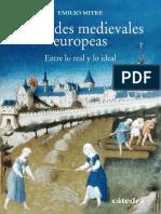 Ciudades medievales europeas. Entre lo real y lo ideal - Mitre, Emilio.pdf