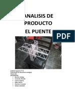 Análisis de Producto El Puente