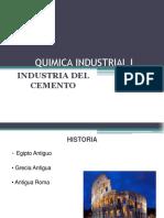 Química Industrial I Presentación