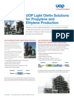 UOP Lt Olefins Solutions Propylene Ethylene Datasheet From SFDC 2015 Version
