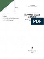 MATEOS Juan-Metodo de Analisis Semantico, Aplicado Al Griego Del N.T.-ediciones Almendro-Madrid 1989