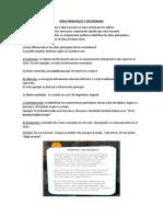 IDEAS PRINCIPALES Y SECUNDARIAS 5°