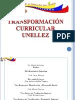 TRANSFORMACIÓN CURRICULAR UNELLEZ