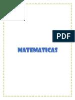 Sintesis de Matematicas y Sociales