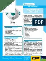Respirador f720v Con Valvula n95