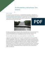 Mantenimiento de Puentes y Estructuras