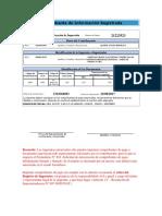 Comprobante de Información Registrada 222