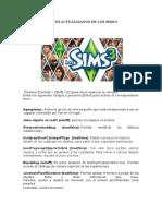Trucos Actualizados de Los Sims 3