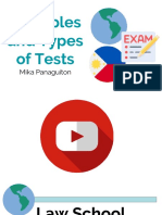 Examples and Types of Tests