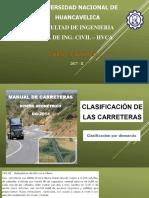 Clase 02 Caminos i 2017-II