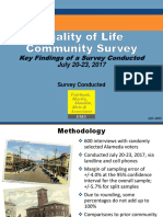 Alameda Community Survey - Final Public Report