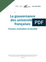 Rapport GouvernanceUniversitesFrance 2012