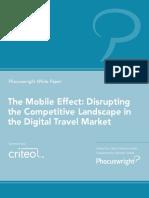 Phocuswright Criteo the Mobile Effect Travel