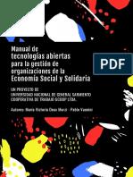 Manual de Tecnologias Abiertas Para La Gestion de Organizaciones de La Economia Social y Solidaria