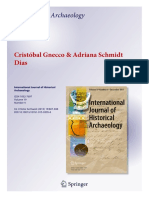 Gnecco Dias on Contract Archaeology Printed Version