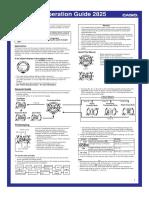 Casio ProTrek MO0406 Watch Manual - Module_2825