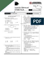Examen Mensual 5to Secundaria Rm Aritmertica