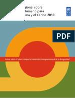Informe de Desarrollo Humano Latinoamérica