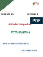 Geronimo Sanchez Beatriz Del Carmen M15S1 Estequiometria.
