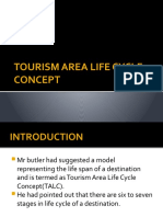 Tourism Area Life Cycle Concept