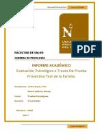 INFORME_PRUEBAS - Test de Familia