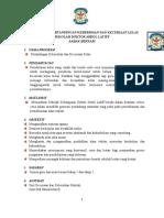 Kertas Kerja Pertandingan Kebersihan Dan Keceriaan Kelas 2017