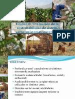 Evaluacion de agroecosistemas