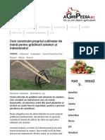 Cum Construim Propriul Cultivator _ Agripedia.ro